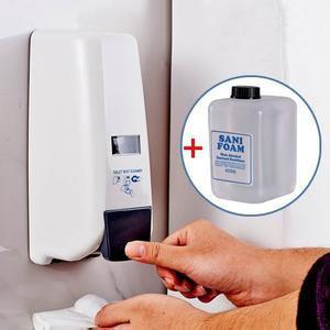 Leekong 400ml Toilet Seat Sanitizer Dispenser Foam Soap