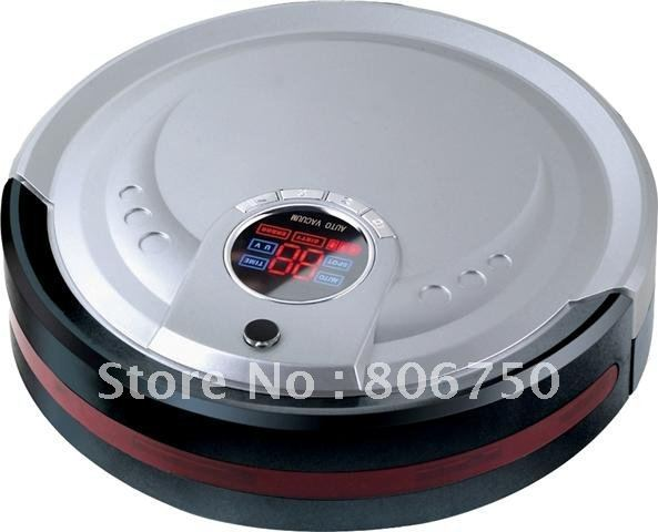 Li-ion Battery M-788 Robot Vacuum Cleaner With 1L rubblish Box +Auto Recharged+UV Lights+Remote Controller