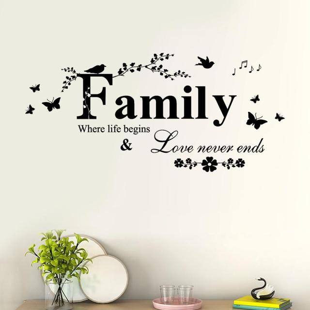 Family Love Wall Stickers 2