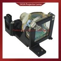 Elpl25/elplp25h lâmpada de substituição do projetor com habitação para epson EMP TW10  EMP S1  powerlite s1   elplp25  CP HS1000  CP S225  emps1|Lâmpadas do projetor| |  -