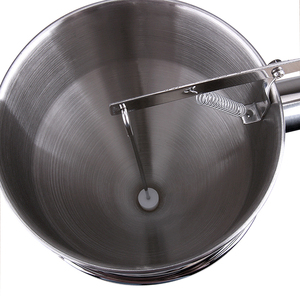 Image 3 - Distributeur de pâte à crêpes parfait pour la cuisson de petits gâteaux gaufres, gâteaux toutes les marchandises de boulangerie fabricant de cuisson avec étiquette de mesure