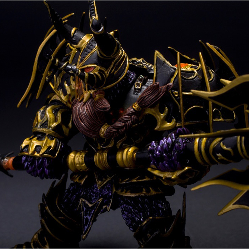 Hit WOW Online Game Series 1 Dwarf Warrior THARGAS ANVILMAR Action Figure PVC Toy (Chinese Ver.) 1