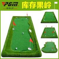 Новый тренировочное поле для гольфа выделенным Крытый мини гольф искусственная зелень положить Дрин практика упражнения Одеяло комплект п