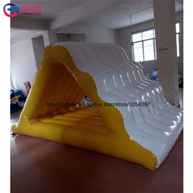 giant Water Floating Inflatable Ice climbing Inflatable Glacier Slide for water park inflatable water slide bouncer inflatable moonwalk inflatable slide water slide moonwalk moon bounce inflatable water park