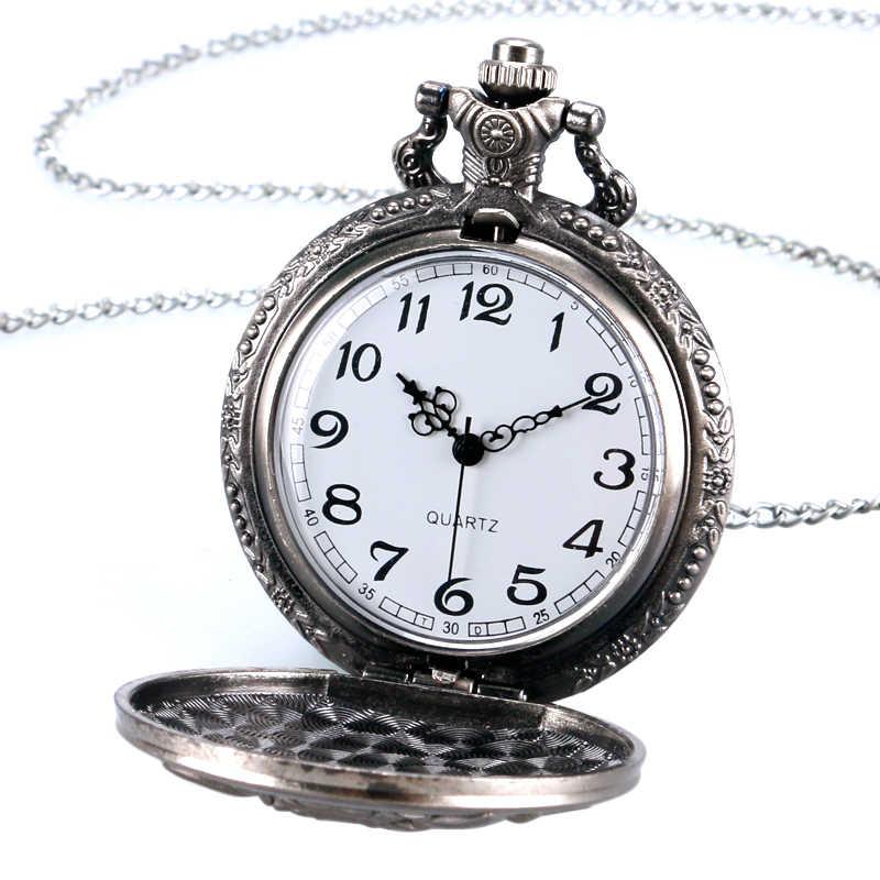 אפור Witcher 3 ציד פרוע נושא האריה מקרה ברונזה Fob קוורץ כיס שעונים עבור גברים בני משחק מתנה פריט saat Reloj Hombre 2017
