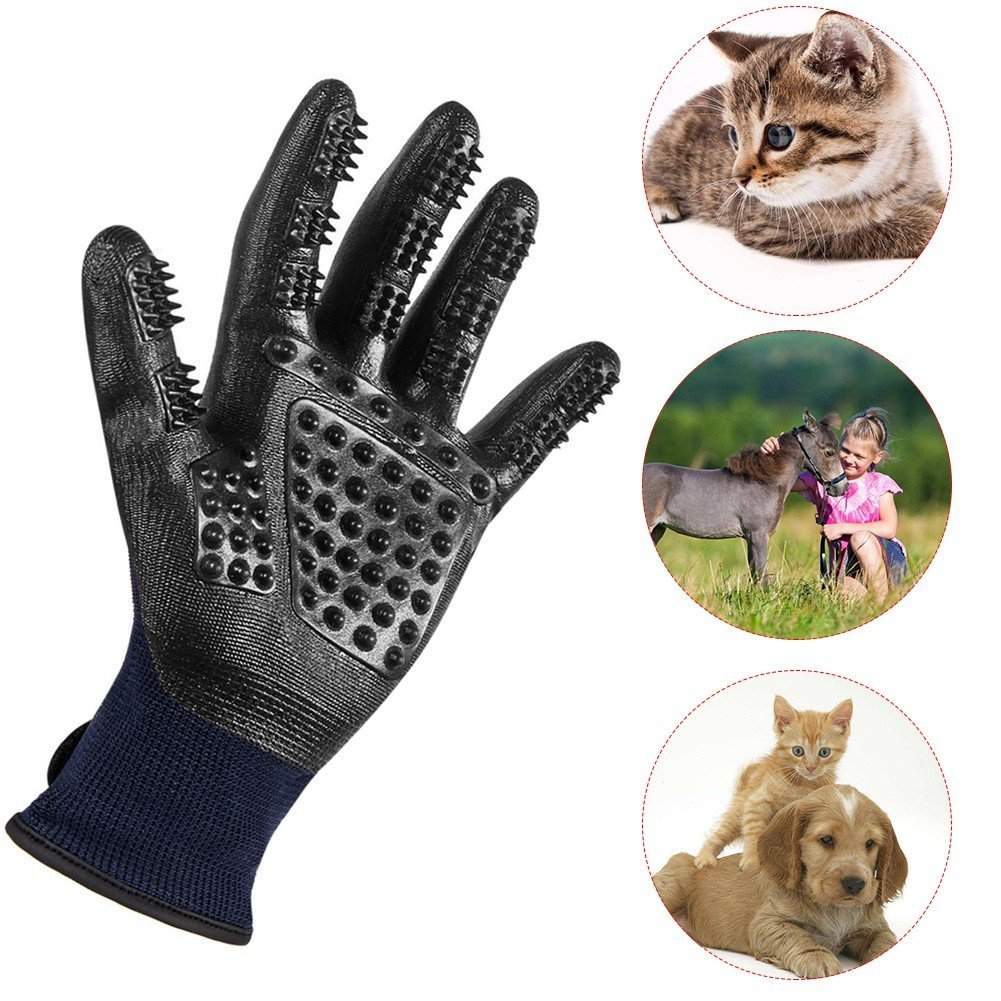 Pet Grooming Gloves For Cats & Dogs 23 » Pets Impress