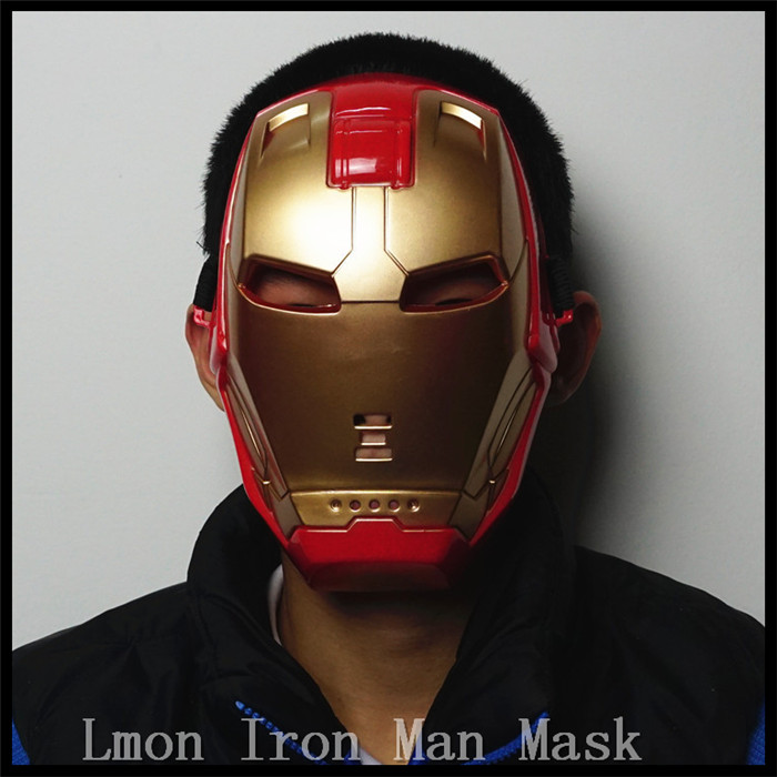 Halloween party cosplay movies superhero mask for kid - Masque iron man adulte ...