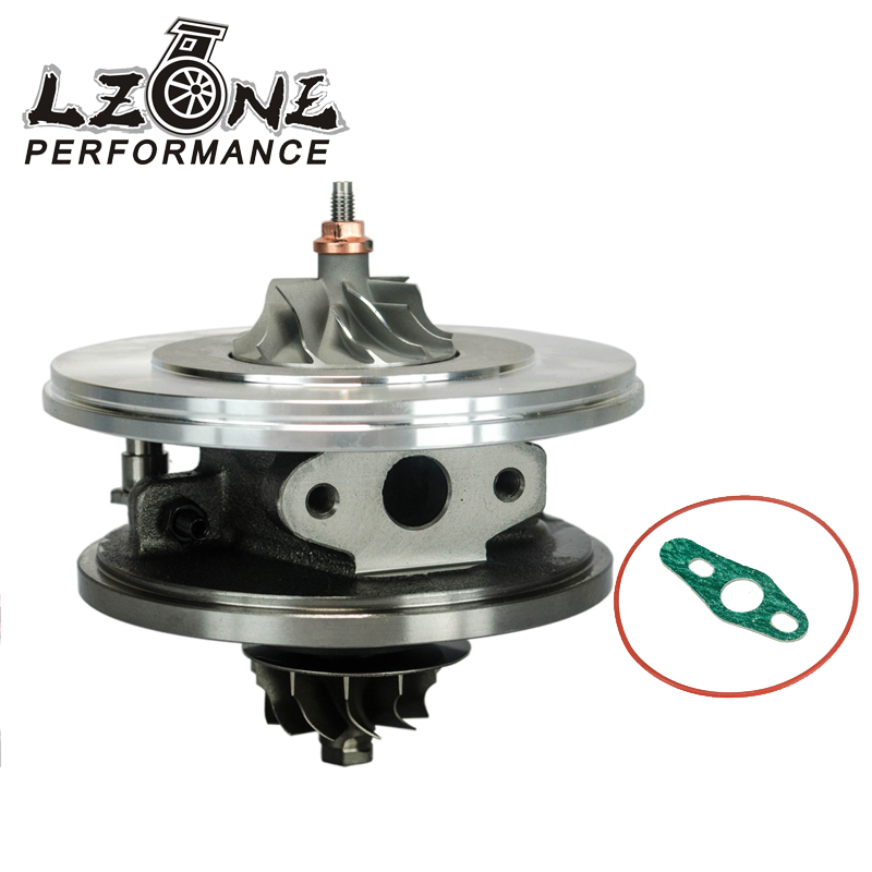 LZONE - Turbo cartridge GT1544V 753420 753420-5005S 750030 740821 0375J6 Turbo for Citroen Peugeot 1.6HDI 110HP 80KW JR-TBC11 turbo cartridge chra core gt1544v 753420 5004s 753420 740821 750030 753420 0002 740821 0001 for citroen c3 c4 c5 dv4t 1 6l hdi