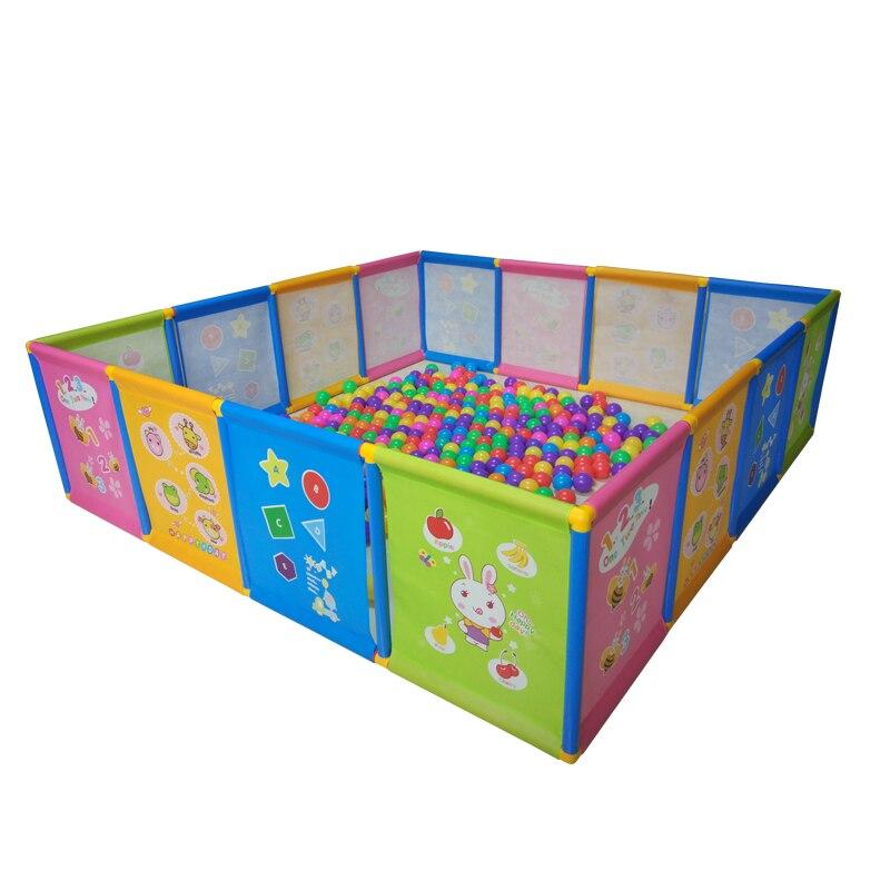 Забор игрушки Для детей, малышей манежи игры ребенка ползать коврик для малышей ограждения могут быть собраны безопасности забор