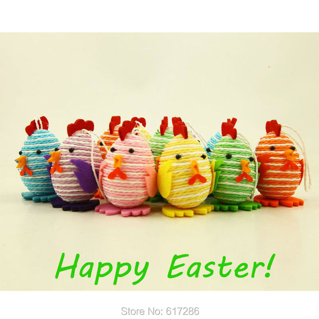 Chicken toy handmade easter gift diy toy for kids colorful chicken chicken toy handmade easter gift diy toy for kids colorful chicken made of foam 6 pcs negle Image collections