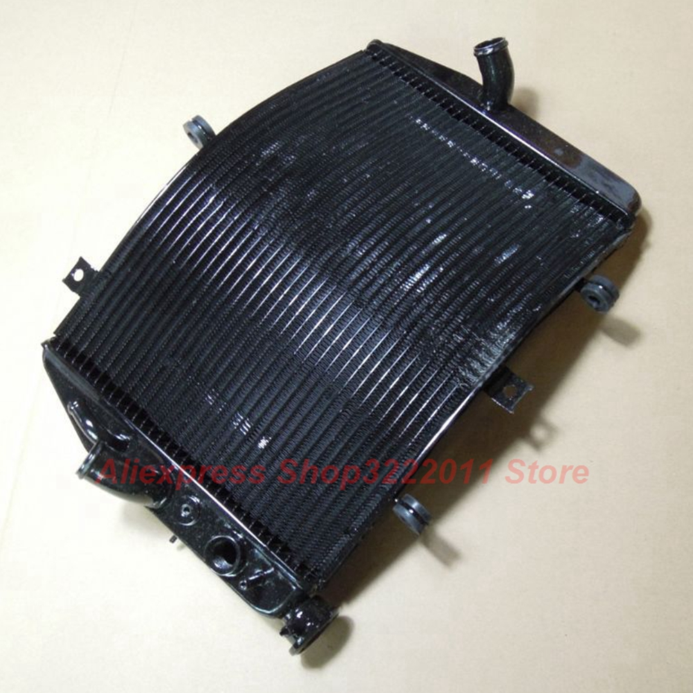 Motorcycle Radiator for SUZUKI GSXR600 GSXR750 2004 2005 K4 Aluminum Water Cooler Cooling Kit