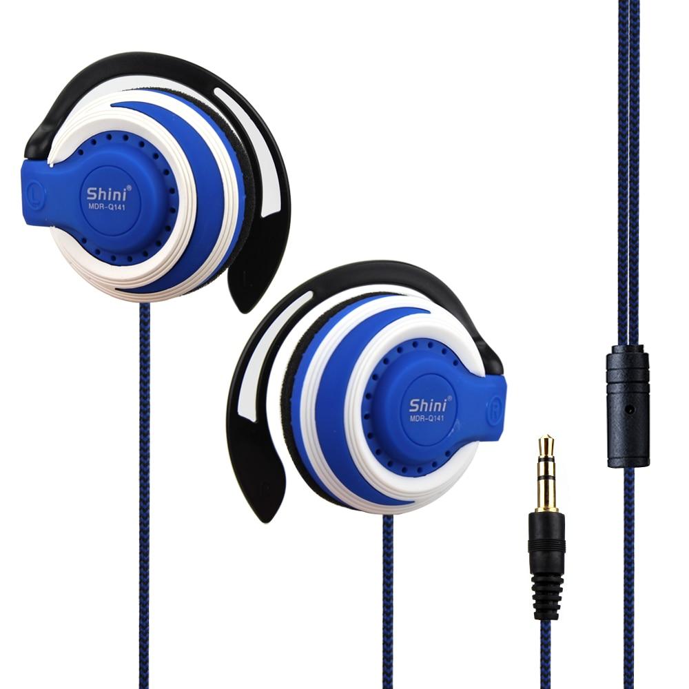 Original Q141 Stereo Headphones bass music Earphone Ear Hook Headset 3.5mm For Mobile Phone Headset Factory Price Wholesale
