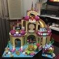 10436 Принцесса Подводный Дворец Модель Строительство Комплекты мини Блоки Кирпичи Девушка Игрушка в Подарок Совместимость С Лепин Друзей 41063