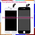 No dead pixel black white para iphone 6 6g telefone completo Tela De Lcd Digitador Com Tela de Toque Completa Assembleia + Quadro
