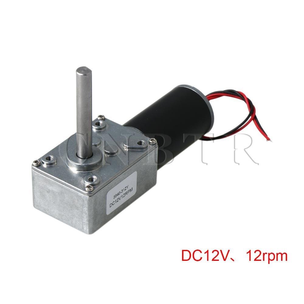 31ZY DC12V 12RPM 8mm Shaft High Torque Worm Gear Box Reduction Motor31ZY DC12V 12RPM 8mm Shaft High Torque Worm Gear Box Reduction Motor