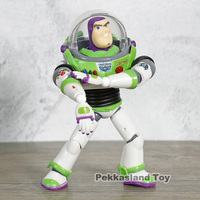 SCI FI Revoltech Series No 011 Toy Story Buzz Lightyear PVC Action Figure Collectible Doll Toys Gift For Kids Children