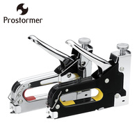 PROTORMER Manual Nail Gun Heavy Duty Hand Nail Gun Stapler Woodworking With 600pcs Furniture Kit Nailers