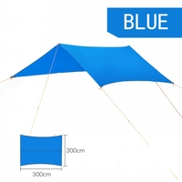 Beach Outdoor Portable Hammock Awning Hanging Tent Wear Resisting Large Multi Functional Mat Folding UV Proof