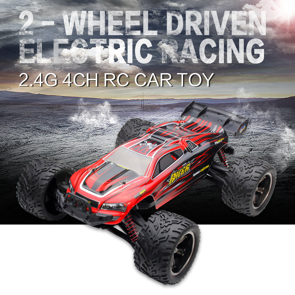High Speed RC Car 9116 Buggy Cars 1:12 2.4G Full Proportion Monster Truck Off road Pickup Car Big Foot Vehicle Toys Electric Car high speed big rc car 9116 1 12 2wd brushed rc monster truck rtr 2 4ghz good children toy