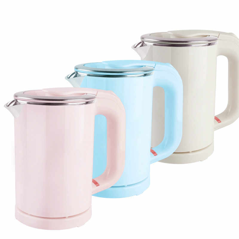 2f68ace54 Dual Voltage Travel water Heating Kettle MINI Electric kettle cup heater  Portable stainless steel tea pot