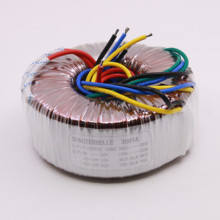 300W Audio Toroidal Transformer Output: 32V 0 32V, 12V 0V 12V, 0 10V High Quality Pure Copper Power Transformer