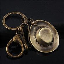 ФОТО    Creative Metal Vintage hat Keychain Lovely  Key Chain Key Ring Jewelry