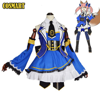 FGO Fate Grand Order Extra CCC Caster Tamamo no Mae Cosplay Costume SJ Uniform Lolita Dress Halloween Costume For Women FreeShip