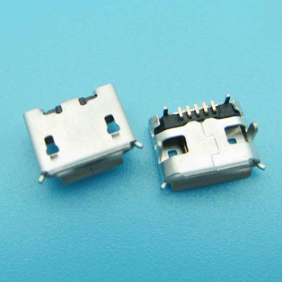 1 قطع البسيطة مايكرو USB موصل جاك ميناء الشحن شاحن مأخذ التوصيل حوض الإناث 5pin ل JBL الوجه 2 بلوتوث رئيس