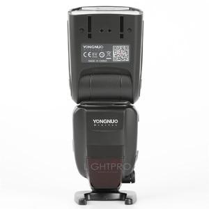 Image 3 - YONGNUO YN600EX RT II 2.4G Wireless HSS 1/8000s Master Flash Speedlite + YN E3 RT TTL Radio Trigger Speedlite Transmitter+ Gift