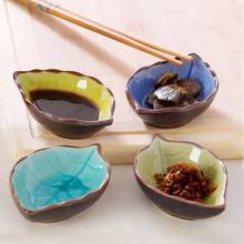 Sauce Dish Snack-Plates Japanese Tableware Ceramic Kitchen Glaze Creative Mini Ice Seasoning