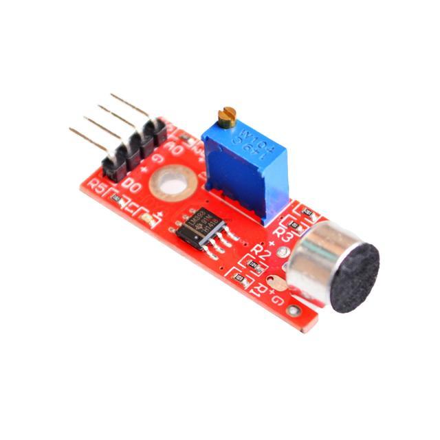 5pcs/lot High Sensitivity Sound Microphone Sensor Detection Module For  AVR PIC