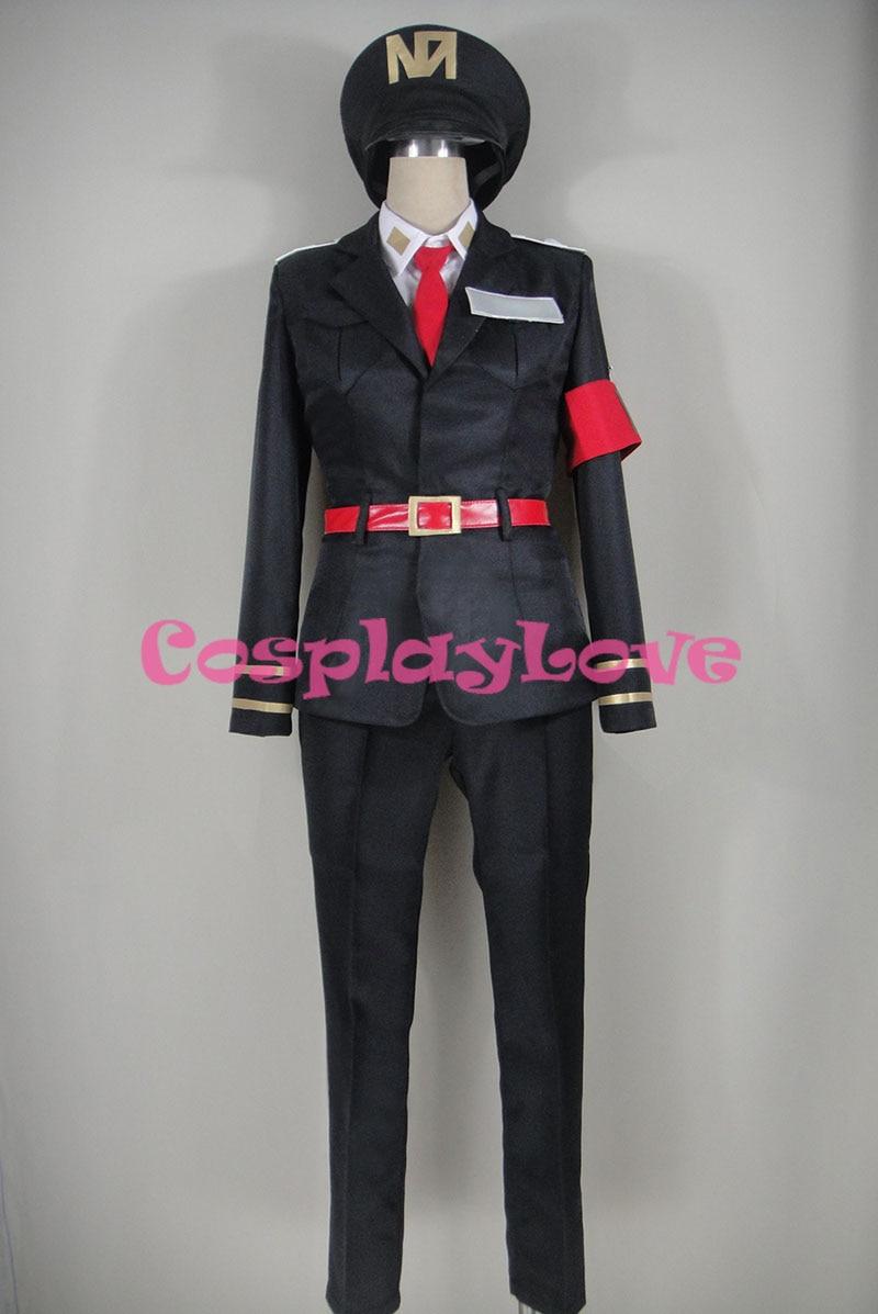 CosplayLove Detentionhouse Nanbaka Hajime Sugoroku Cosplay Costume Custom Made Women Man For Christmas Halloween