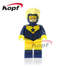 Single Sale Super Heroes Booster Gold Parademon Katana Reverse-Flash Bricks Education Building Blocks Toys for children XH 747(China)