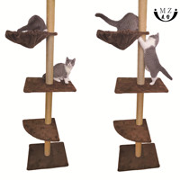 Pet cats toys climbing scratching post tree tower house products for pets cat furniture scratching posts cardboard cat scratcher