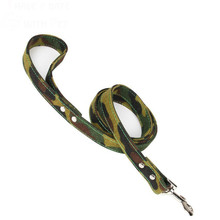 Dog Supplies Camouflage Canvas Large Leash Lead Training Walking For Small Medium Big Leashes Pitbull German Shepherd