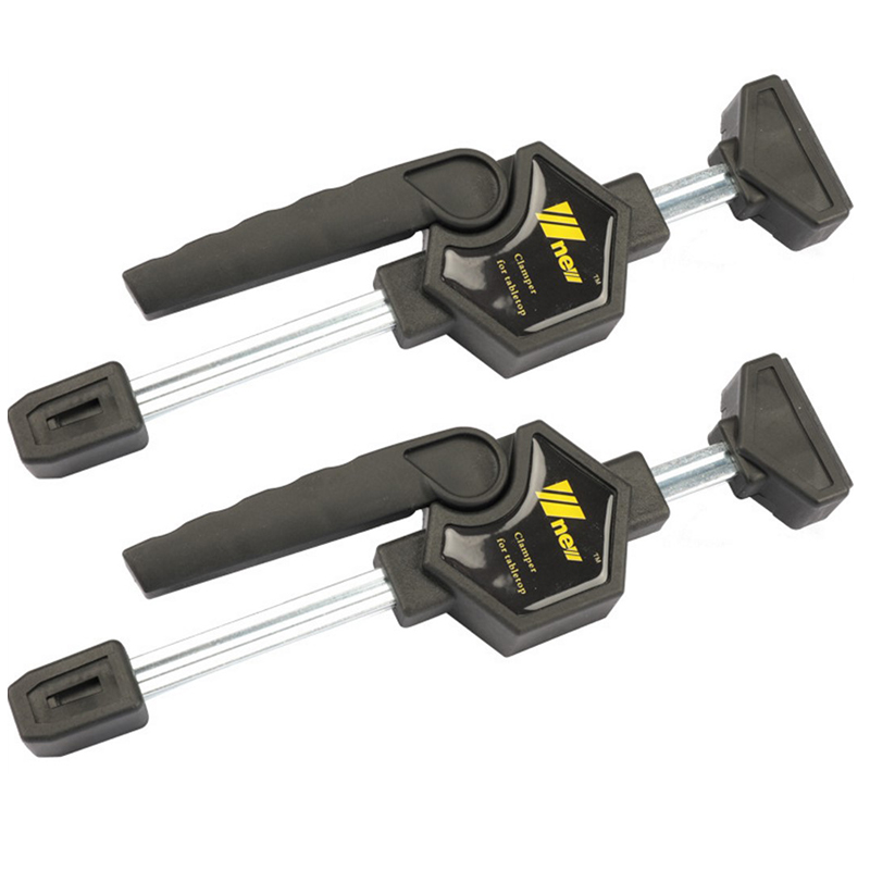 Cliquet rapide libération vitesse presser bois travail barre de travail pince Clip Kit épandeur Gadget outil bricolage main