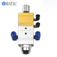 Free Shipping Single Cylinder Two Fluid Suction Adjustable ABS Double Liquid Dispensing Valve Double Rubber Mixing Valve 1: 1
