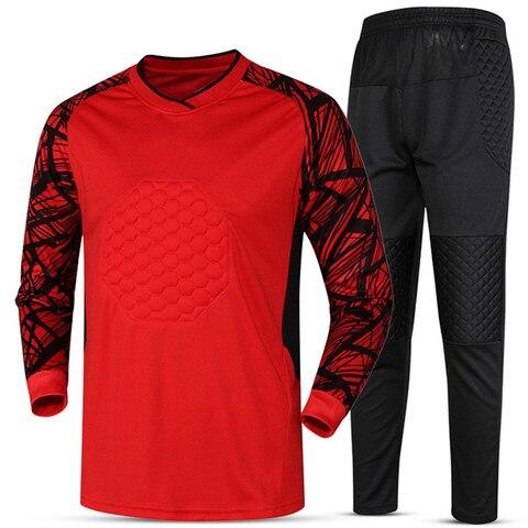 Soccer sets goalkeeper jerseys men football Survetement tracksuit goal keeper uniforms goalie sports training pants DIY Custom Islamabad