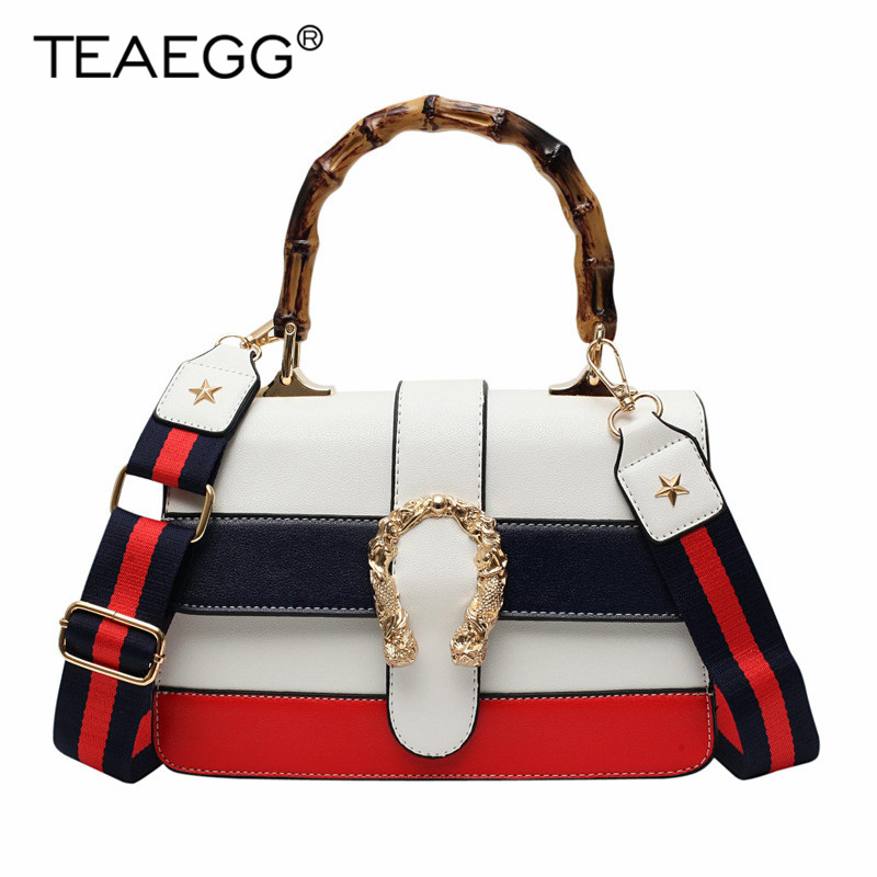 TEAEGG New Vintage Womens Bags Fashion Star Bamboo Messenger Bag Single Shoulder And Shoulder Chain Girl Handbag As GiftTEAEGG New Vintage Womens Bags Fashion Star Bamboo Messenger Bag Single Shoulder And Shoulder Chain Girl Handbag As Gift