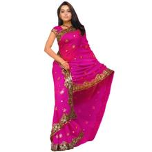 India Sarees Fashion Woman Ethnic Styles Embroidery Sarees Beautiful Dance Costume Lady Long Comfortable Clothing