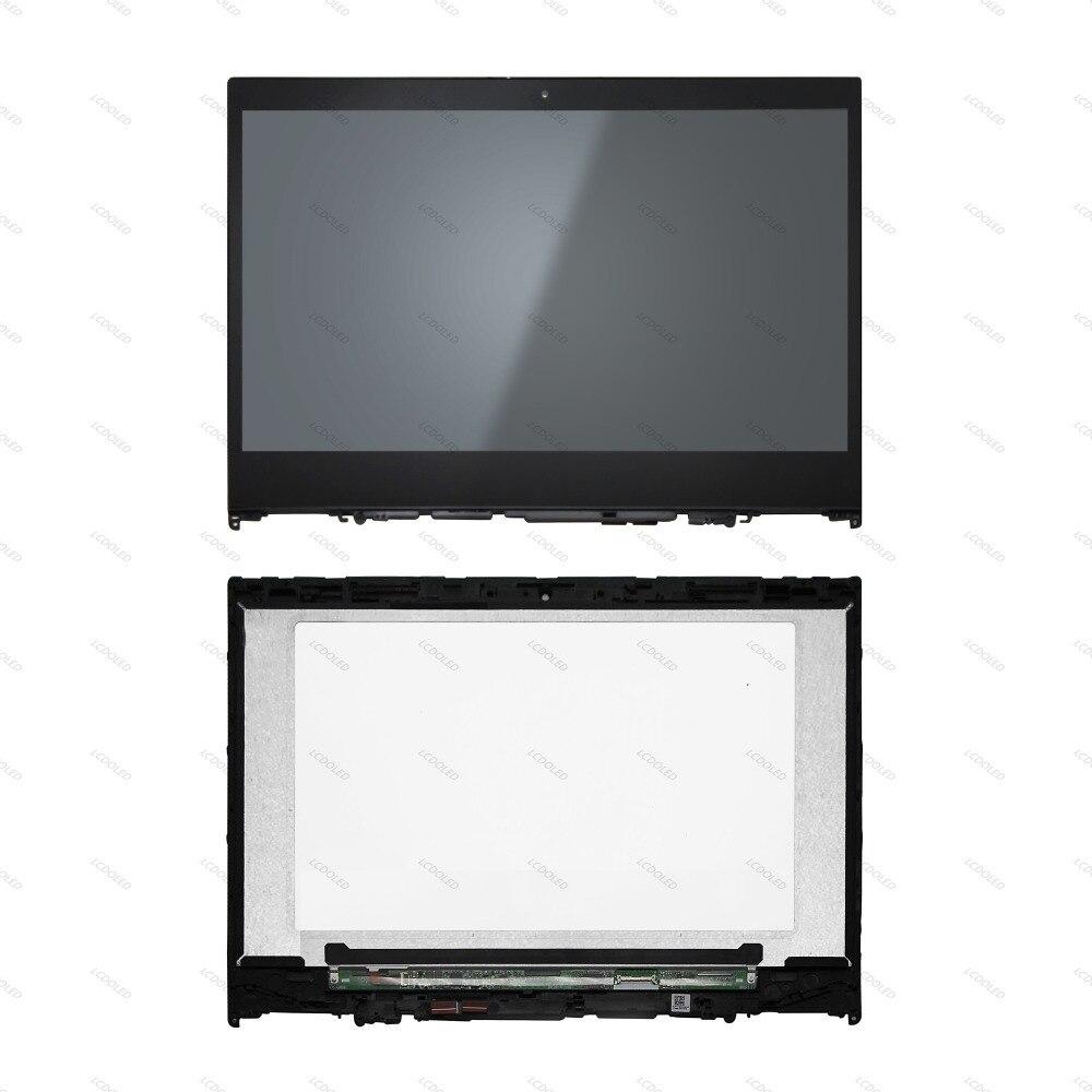 14 ''LCD Affichage Écran + Tactile En Verre Digitizer Remplacement Assemblée Panneau IPS NV140FHM-N49 Ordinateur Portable Pour Lenovo Yoga 520-14IKB 81C8