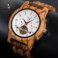 BOBO BIRD механические часы для мужчин Лидирующий бренд Роскошные Деревянные Часы montre homme automatique W-Q27