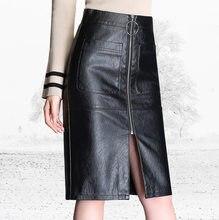 62dff287d Black Leather Tight Skirt - Compra lotes baratos de Black Leather ...