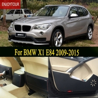 Car pads front rear door Seat Anti kick mat Car styling Accessories For BMW X1 E84 2009 2010 2011 2012 2013 2014 2015