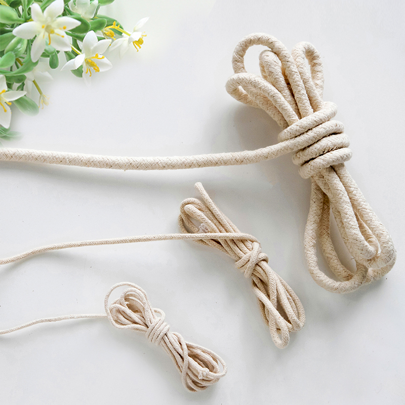 DIY Accessories Cotton Rope Piping Rope Obag Accessoires Bags Parts DIY  For Handbag Wholesale Fashion Ropes Dropshipping