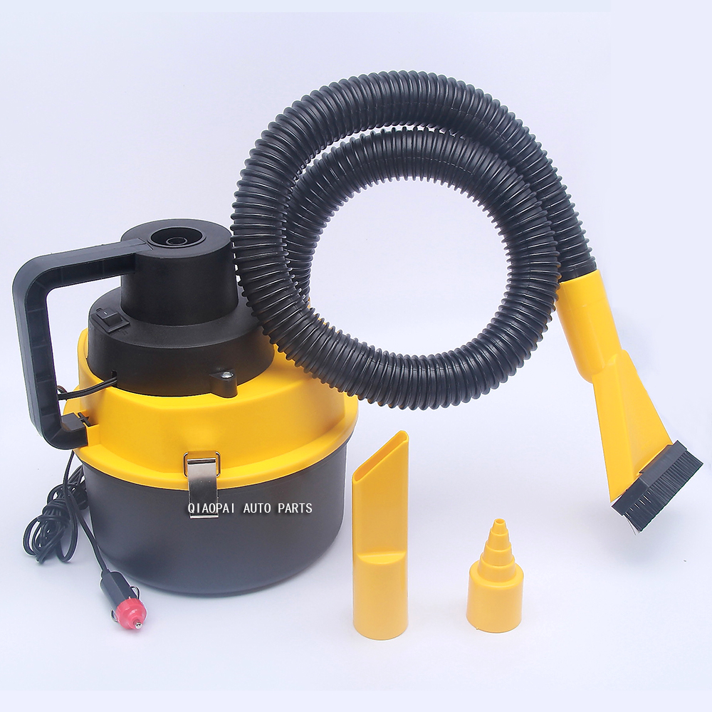 High Power 90W 12V Vehicle Mounted Vacuum Cleaner Auto Car Vacuum Cleaner Dry Wet Dual Purpose Portable Vacuum Cleaner ABS цена