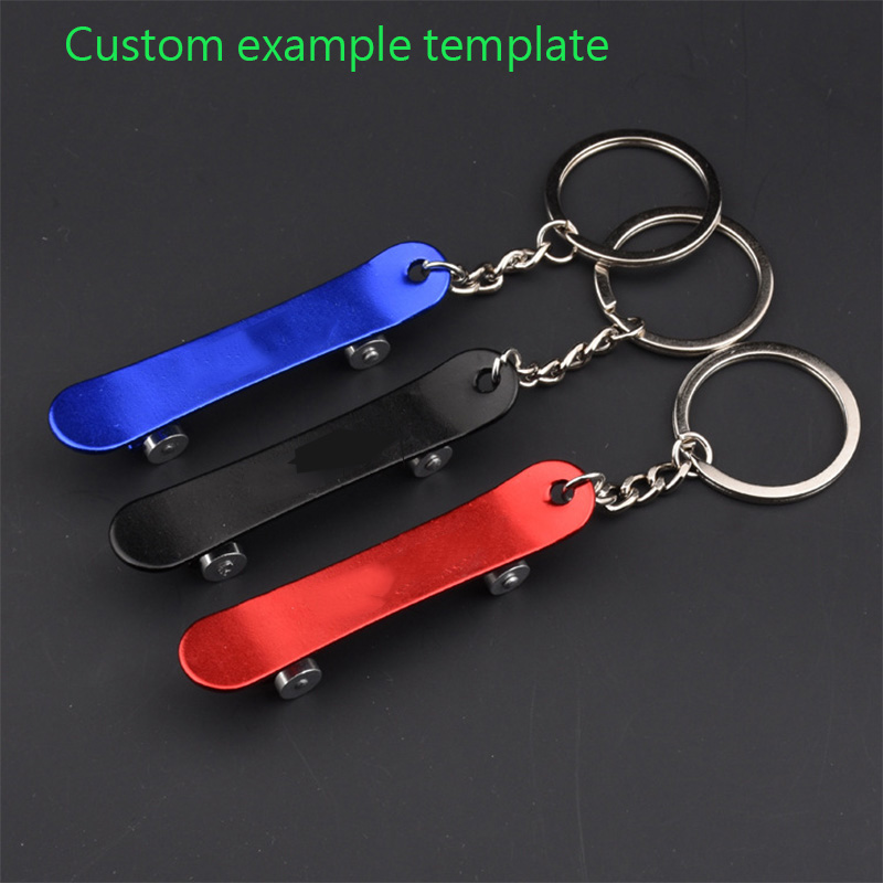 Chocolate Skateboards Red Metal Bottle Opener Carabiner Keyring Chain