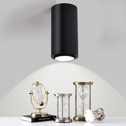 Możliwość przyciemniania LED do montażu na powierzchni Zoom światła reflektor regulacja kąta sufit COB 7w 12w jadalnia/salon bar cafe LED downlight
