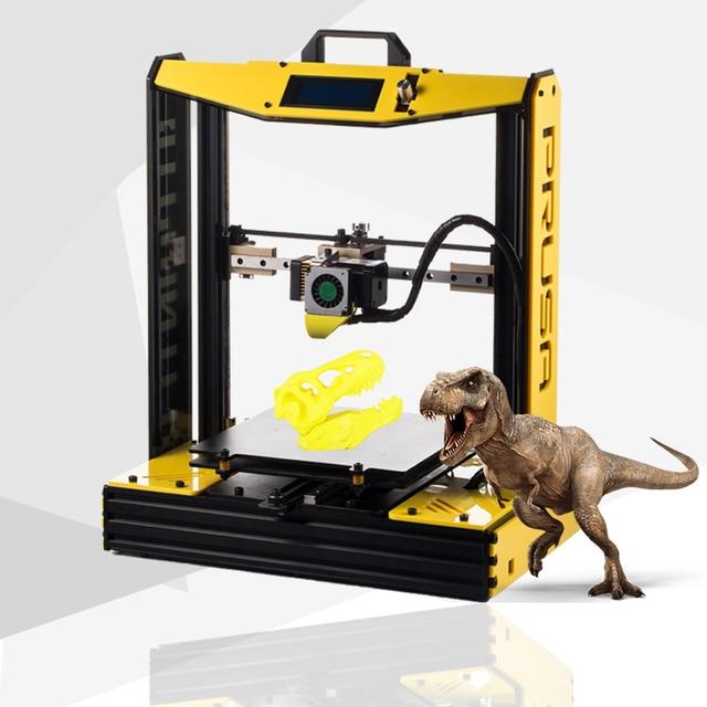 Sunhokey גבוהה דיוק שולחן העבודה Sunhokey I4 חצי DIY 3D מדפסת מכונת 2 KG נימה + SDCard + חרירים 3D מדפסת ערכת impresora 3d