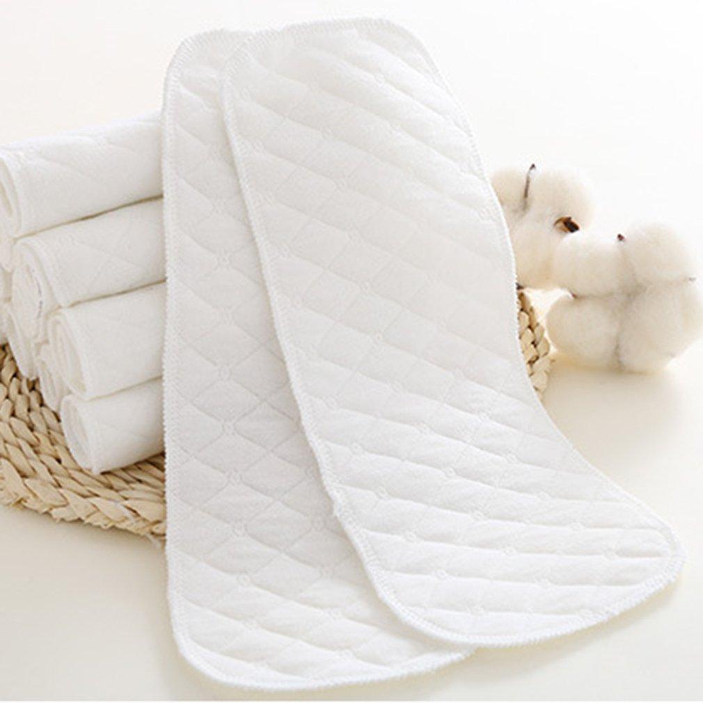 10 pièces couches jetables bébé biodégradable bambou Eco coton couches respirant doux bébé couches couches bébé soins infirmiers